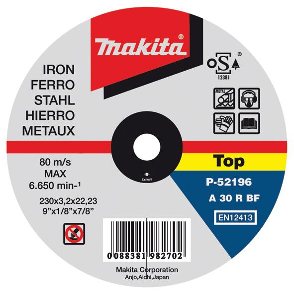 DISCO CORTE METAL 115 X 1.0MM