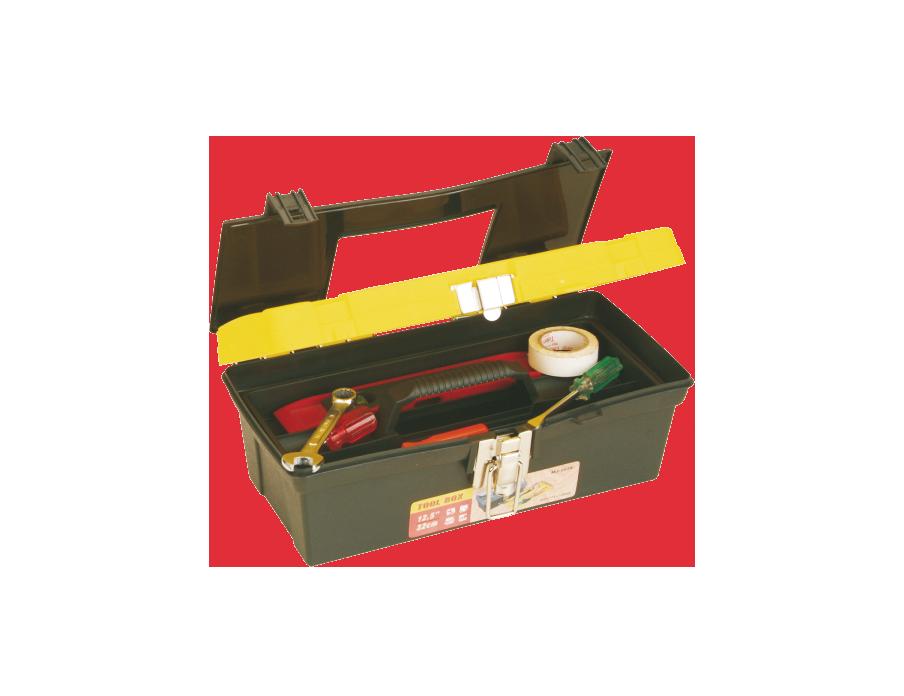 Caja Plástica 13″ Broche Metálico